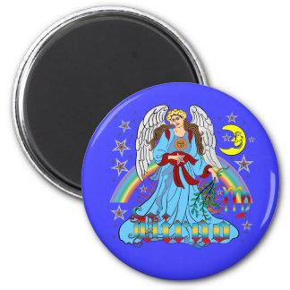 Zodiac Virgo V-1 6 Cm Round Magnet