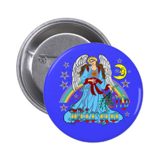 Zodiac-Virgo-V-1R 6 Cm Round Badge