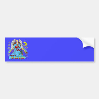 Zodiac-Virgo-V-1R Bumper Sticker