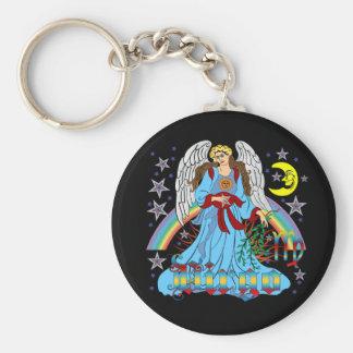 Zodiac-Virgo-V-1R Keychains