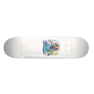 Zodiac-Virgo-V-1R 21.6 Cm Skateboard Deck