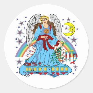 Zodiac-Virgo-V-1R Stickers