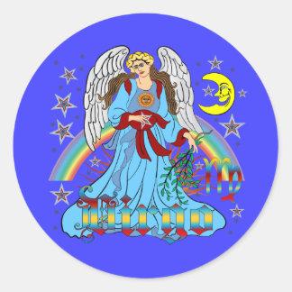Zodiac-Virgo-V-1R Sticker