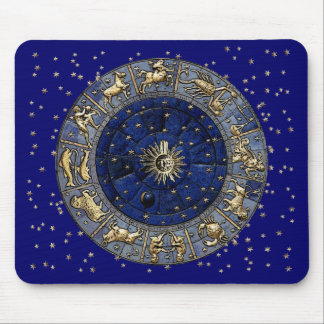 Zodiac Wheel Mouse Pad