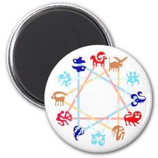 Zodiac zodiac fridge magnet