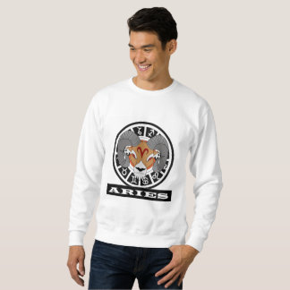 zodiacal sign Aries Sweatshirt