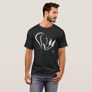 zodiak virgo tribal icon T-Shirt