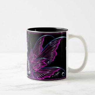 """Zoe"" Hot Pink Celestial Fairy Mug"