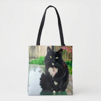 Zoe Kitty Deluxe Tote Bag