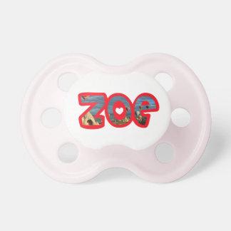 Zoe pacifier