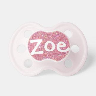 """Zoe"" Personalized Name Sparkle Dummy"