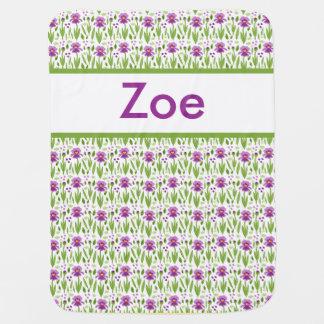 Zoe's Personalized Iris Blanket