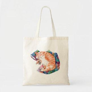 Zoe's Winter Nap Tote Bag