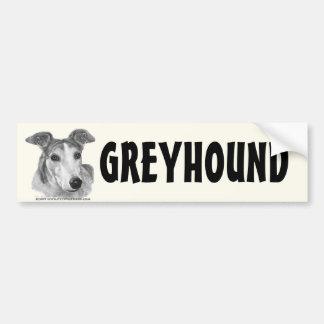 Zoie, Greyhound Bumper Sticker