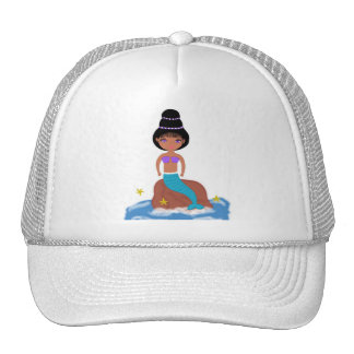 Zola the Mermaid Cap/Hat for Women/Girls