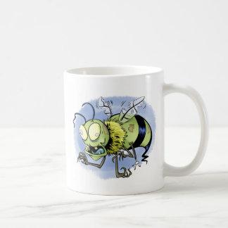 Zom-bee ( Zombie Bee ) Coffee Mugs