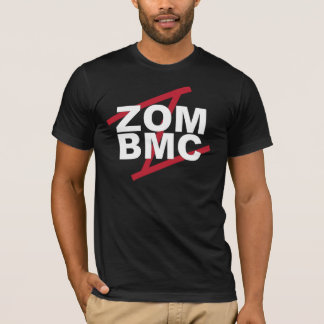 ZOM BMC  White letters on Red Z T-Shirt