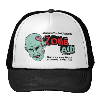 Zomb Aid Zombies Mesh Hats