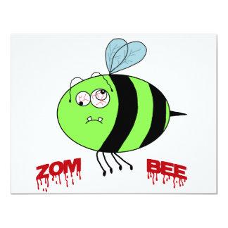 ZomBee 11 Cm X 14 Cm Invitation Card