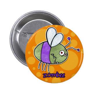 zombee 6 cm round badge