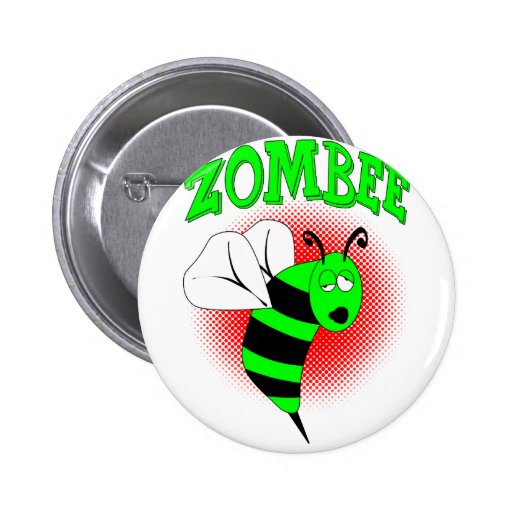 Zombee Pinback Buttons