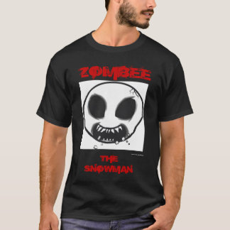 Zombee Big Head Black T-Shirt