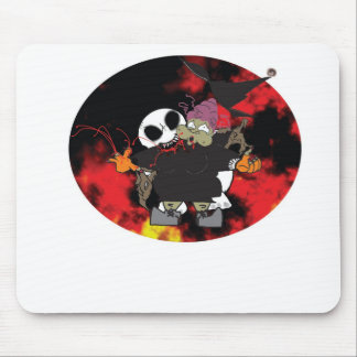 Zombee bites that old fat hag mouse pad