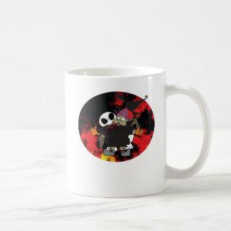 Zombee bites that old, fat hag classic white coffee mug
