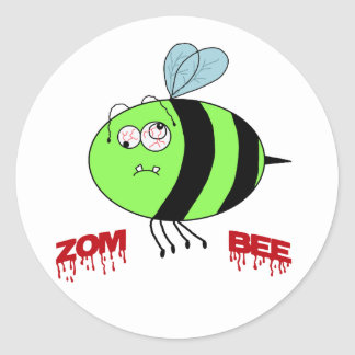 ZomBee Classic Round Sticker