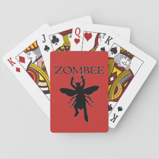 Zombee Playing Cards