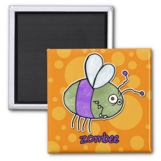 zombee square magnet