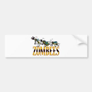 ZOMBEES BUMPER STICKER