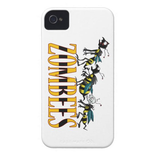 ZOMBEES iPhone 4 Case-Mate CASES