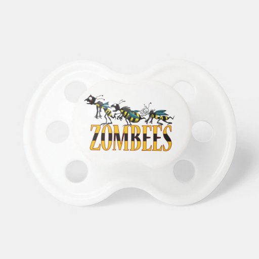 ZOMBEES BABY PACIFIERS