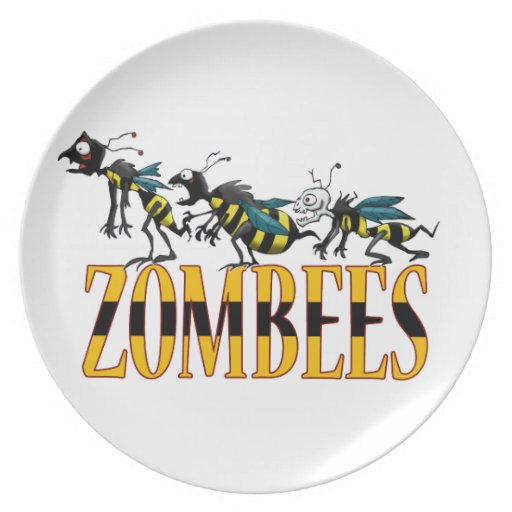 ZOMBEES PLATE