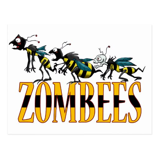 ZOMBEES POSTCARDS