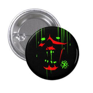 zombie 3 cm round badge