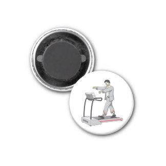 Zombie 3 Cm Round Magnet