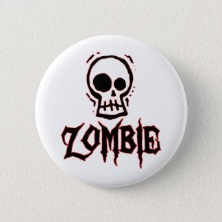 Zombie 6 Cm Round Badge