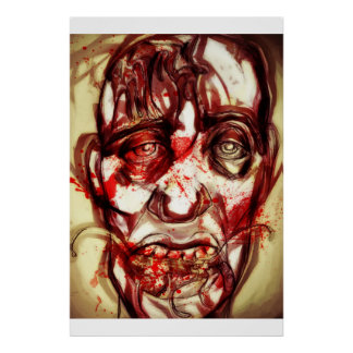 zombie among the living poster