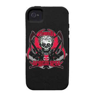 Zombie Apocalypse 14 Vibe iPhone 4 Case
