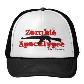 Zombie Apocalypse AK47 Equipped Cap
