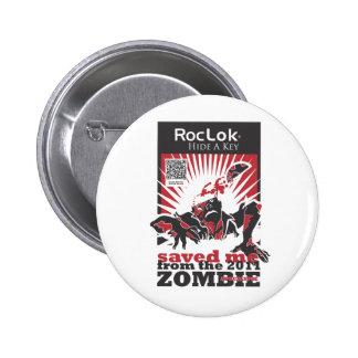 Zombie Apocalypse Pinback Buttons