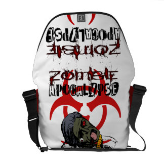 Zombie Apocalypse Bag Courier Bags