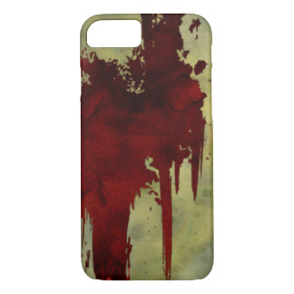 Zombie Apocalypse Blood Line iPhone 7 Case