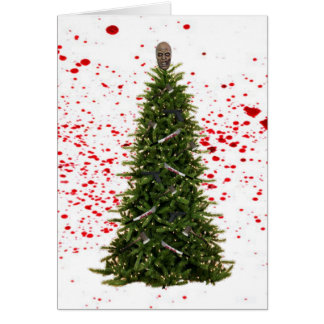 Zombie Apocalypse Christmas card
