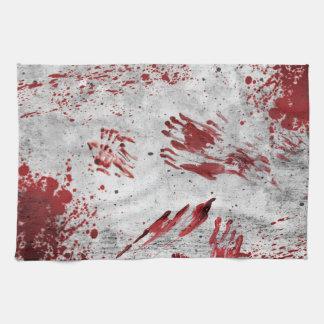 Zombie Apocalypse Design Tea Towel