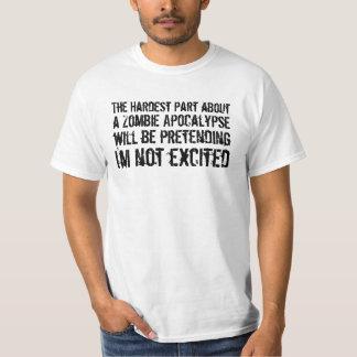 Zombie Apocalypse Excitement Value T-Shirt