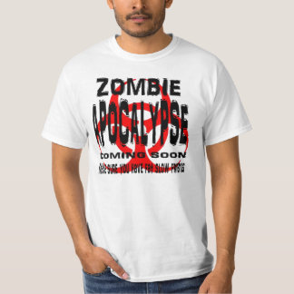 Zombie Apocalypse have fat slow friends T-Shirt
