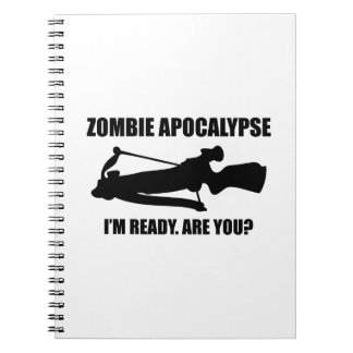 Zombie Apocalypse I'm Ready Are You Notebook